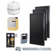 Kit solar Idella Family Standard IFST 2.02 mp cu 3 panouri solare si o statie solara