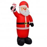 vidaXL Надуваем Дядо Коледа, 120 см