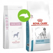 Royal Canin Veterinary Diet Canine Skin Care Hrană uscată - 2 x 11 kg