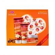 Dermacol Aroma Ritual Apple & Cinnamon confezione regalo doccia gel 250 ml + scrub corpo 200 g + crema mani 100 ml donna