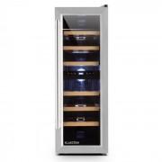 Klarstein Reserva Duett 12 frigider vin 65 litri de 21 de sticle de 2 zone (HEA3-Reserva-Duett12)