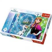 Puzzle Trefl, Disney Frozen, 200 piese