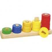 Sortare culori și forme, să învețe să numere, 15 elemente (58968)