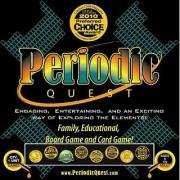 Periodic Quest: A Family Educational Card and Board Game Set with More Than 6 Card Games and Board Games Based on the P