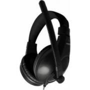 Casti Somic SH-100 cu microfon omnidirectional Negre