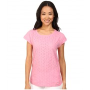 US Polo Assn Eyelet T-Shirt Morning Glory