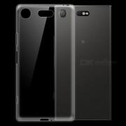 Dayspirit Ultra-thin TPU Volver Funda para Sony Xperia XZ1 Compact? XZ1 Mini-Transparente