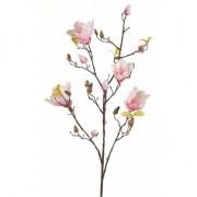 Geen Kunstbloem Magnolia tak 105 cm roze