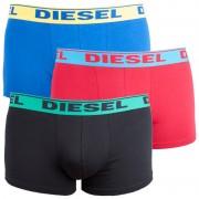 Diesel 3PACK pánské boxerky Diesel vícebarevné (00SB5I-0GAFN-36) L