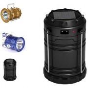 CP bigbasket Rechargeable Solar Charging Lights USB Waterproof Torch Lamp LED flashlight torch lantern