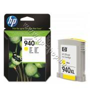 Мастило HP 940XL, Yellow, p/n C4909AE - Оригинален HP консуматив - касета с мастило
