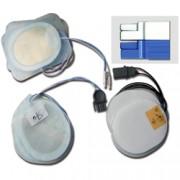 coppia piastre elettrodi monopaziente per defibrillatori rescue 230/re
