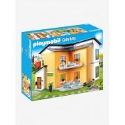 Playmobil 9266 Casa moderna, da Playmobil laranja medio liso com motivo