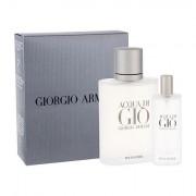 Giorgio Armani Acqua di Giò Pour Homme confezione regalo Eau de Toilette 100 ml + Eau de Toilette 15 ml Uomo