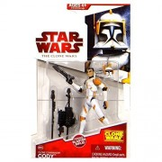 Star Wars Clone Wars 2009 Wave 10 Clone Commander Cody Action Figure