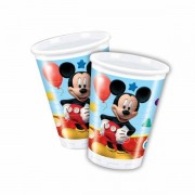 Lobbes Bekers Mickey Mouse, 8st.