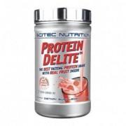 Scitec Nutrition Protein Delite shake de proteína de iogurte de framboesa com tropeços