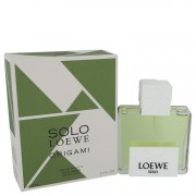 Loewe Solo Loewe Origami Eau De Toilette Spray 3.4 oz / 100.55 mL Men's Fragrance 542023