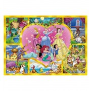 Puzzle 24 Maxi Princesas - Clementoni