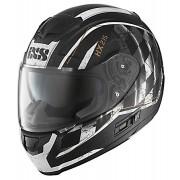 IXS HX 215 Speed Race Casco Negro/Blanco XL (61/62)