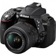 Nikon Lustrzanka cyfrowa NIKON D5300 + 18-55mm VR Czarny
