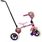 Kid Meteor Galctic Girl Simple Steering Tricycle, 10 inch front wheel, Girl's Trike, Pink