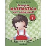 Invatam matematica cu chibrituri Exercitii si jocuri matematice. Clasa I