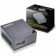 GIGABYTE BRIX kit Intel Core i3-6100U, 2x DDR3L 1.35V SODIMM max 16GB, 2.5 HDD/SSD, 1 x M.2 slot 2280, Intel HD Graphics 520 mDP, HDMI, 4x USB 3.0, Micro SD card slot, Realtek ALC255 audio, Gla GB-BSI3H-6100