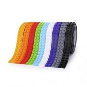 SuSenGo SuSenGo 9 Rolls 9 color 29.5feet/9meter Building Block Tape Roll Self-Adhesive.
