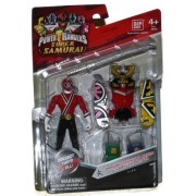 Saban's Power Rangers Super Samurai Megazord Armor With 4 Fire Ranger