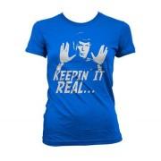 Star Trek - Spock Keepin´ It Real Girly T-Shirt, Girly T-Shirt