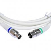 Technetix Coax kabel (M) - (F) Recht 1,5 meter