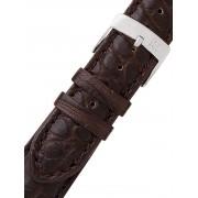 Curea de ceas Morellato A01U0518339030CR18 braunes Alligator Uhren18mm