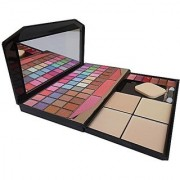 TYA Laptop Fashion Makeup Kit with 48 Colour Eye Shadow Compact and Blusher Etc -590