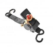 ProPlus Tie Down Strap Ratchet 2 Hooks 180cm 750 Kg Auto-retractable