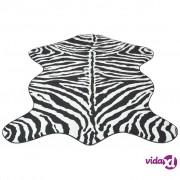 vidaXL Oblikovani tepih 150x220 cm Zebra Print