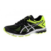 Asics Men's Gt-1000 4 Black, Silver and Flash Yellow Running Shoes - 9 UK/India (44 EU) (10 US)