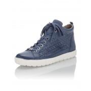 Caprice Sneaker mit LaserCut blau female 38,5