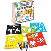 Vilac Keith Haring Stencils Set