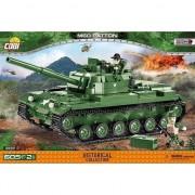 Set de constructie Cobi, Razboiul din Vietnam, Tanc M60 Patton 605 piese