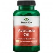 Swanson Olej z Awokado (Avocado Oil) 1000 mg 60 kapsułek
