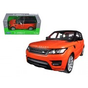 Range Rover Sport Orange 1/24 By Welly 24059