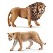 Schleich Lion and Lioness Set of Two (14726/14712) Bagged and Ready to Give