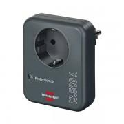Brennenstuhl beveiligingsadapter tegen overspanning (antraciet)