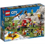 Lego City: Pack de minifiguras: Aventuras al aire libre (60202)