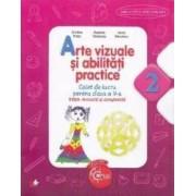 Arte vizuale si abilitati practice cls 2 caiet - Cristina Rizea editie revizuita si completata