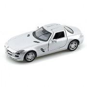 Mercedes-Benz SLS AMG 1/36 Silver