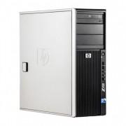 WorkStation HP Z400, Intel Xeon Quad Core W3520 2.66GHz-2.93GHz, 12GB DDR3, 1TB SATA, Placa Video AMD Radeon R5 340, 4GB GDDR5 128-Bit, DVD-RW
