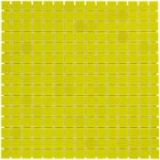 Mozaiektegel Amsterdam Yellow Soft Grain Glass 322x322