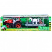 Tractor ferma transport animale figurine sunete si lumini